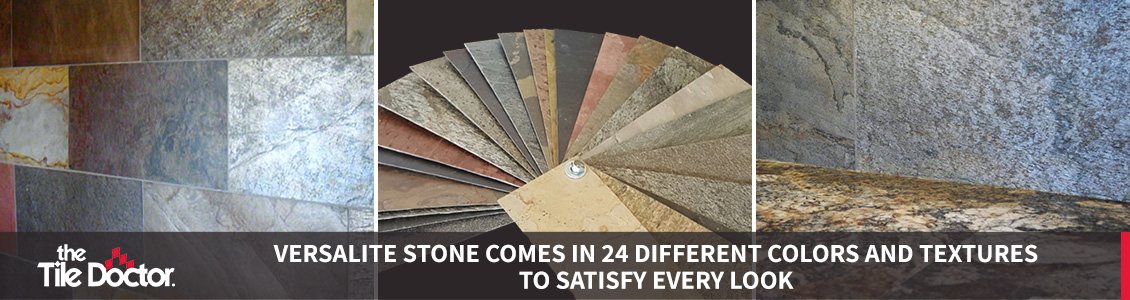 Different Colors and Textures of VersaLite Stone